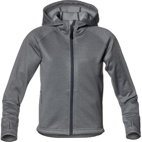 Isbjörn Panda Fleece Hoody Barn licorice